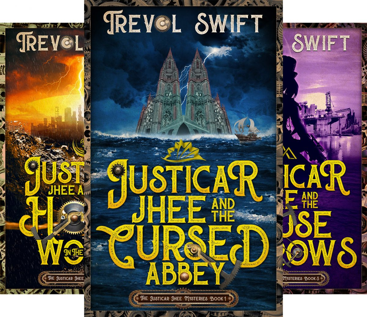 Free: The Justicar Jhee Mysteries