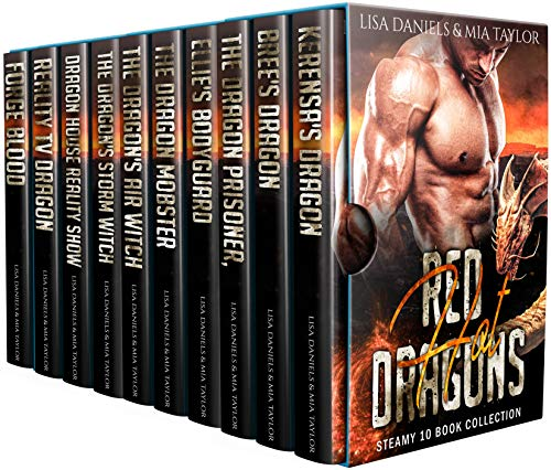 Red Hot Dragons Steamy 10 Book Collection