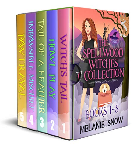 The Spellwood Witches Paranormal Cozy Mystery Series: Complete Collection Box Set (Books 1-5) (The Spellwood Witches Paranormal Cozy Mystery Collection)