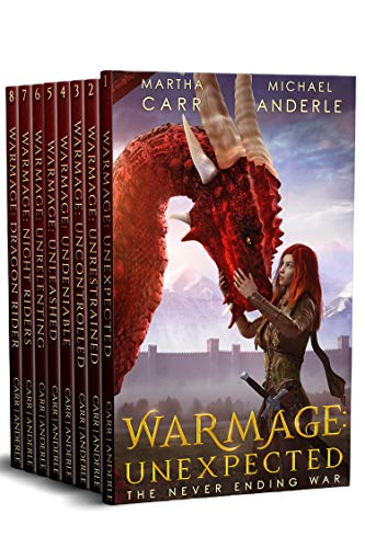 The Never Ending War Complete Series Boxed Set