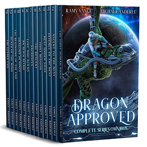 Dragon Approved Complete Series Boxed Set (Books 1 – 13)